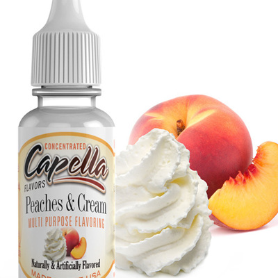 Capella Peaches and Cream Flavour Concentrate