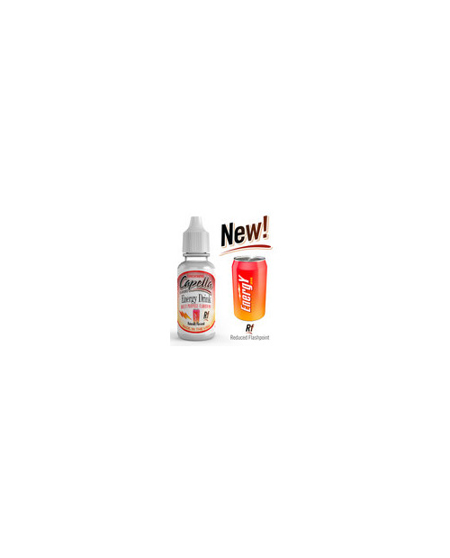 Capella's energy drink concentrate in 10ml and 30ml sizes @vaporized.co.nz