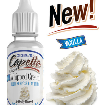 Capella Vanilla Whipped Cream Flavour Concentrate