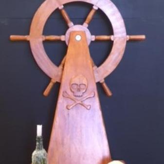 Ships Captain Wheel