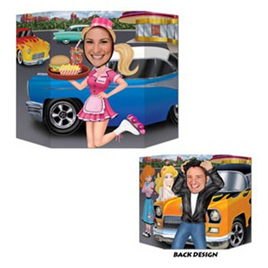 Car Hop Photo prop