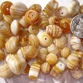 Caramel Marble Bead Mix
