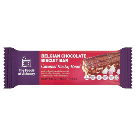Caramel Rocky Road Chocolate Biscuit Bar
