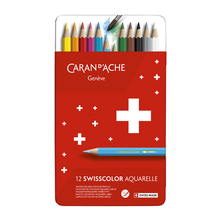 Caran d'Ache Red Line Water Soluble Pencils