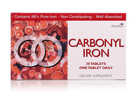 Carbonyl Iron 18 Mg Tab 30