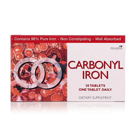 Carbonyl Iron Tablets 18mg 30