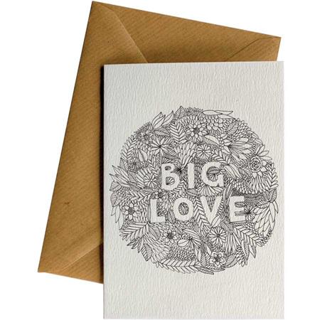 Card - Big love