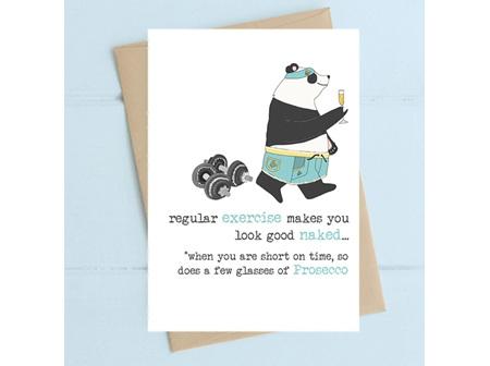 Card Exercise & Prosecco