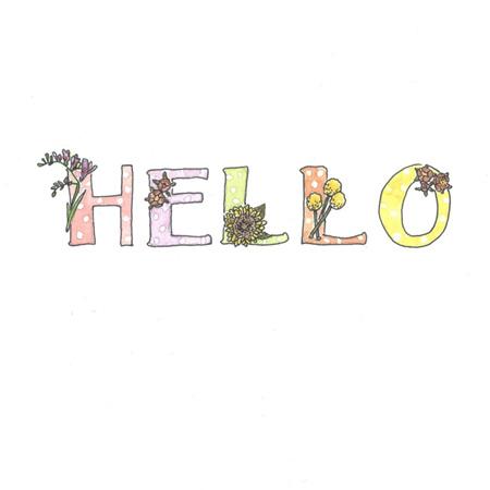 Card - Hello