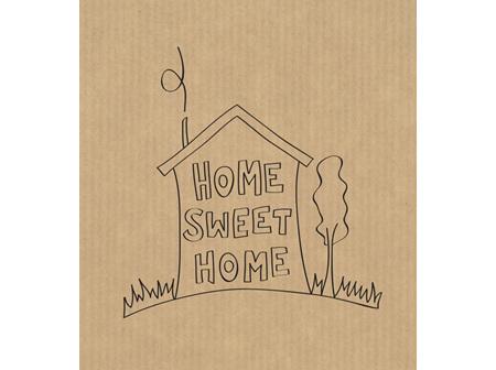 Card Home Sweet Home