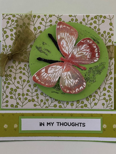 Card - In My Thoughts