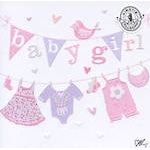 CARD KIRSTIE ALLSOPP SQ BABY GIRL