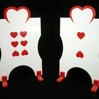 Card Men Croquet 'Hoops'