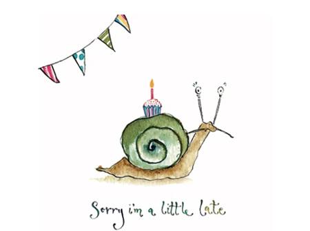 Card Snail Late