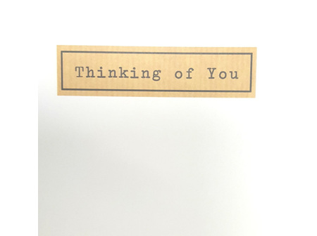 Card Thinking of You