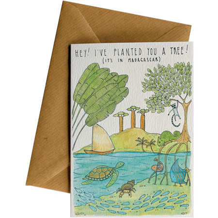 Card - trees