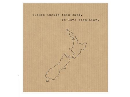 Card Tucked Inside NZ