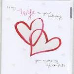 CARD WIFE & BD LOVE HEARTS
