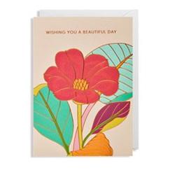 Card - wishing you a beautiful day