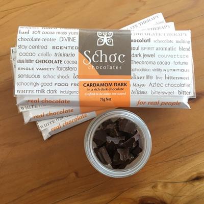 Cardamom dark chocolate