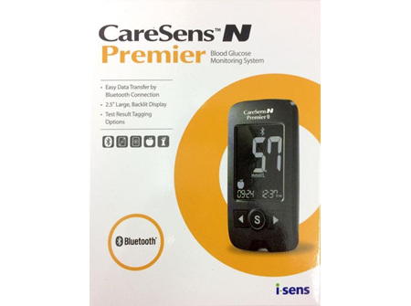 CARESENS N PREMIER BLOOD GLUCOSE METER