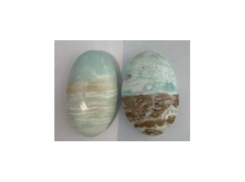 Caribbean Calcite small palmstone