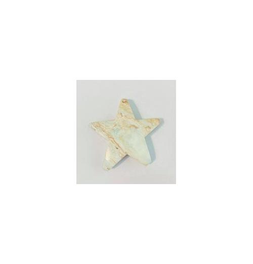 Caribbean Calcite Star 260gm