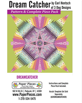 Carl Hentsch Dream Catcher Pattern and Complete Piece Pack
