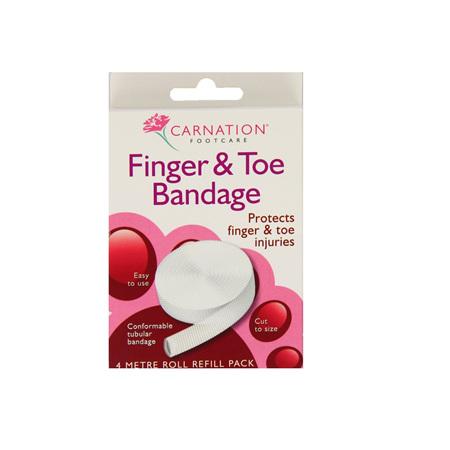 Carnation Finger and Toe Bandage 4 Metres