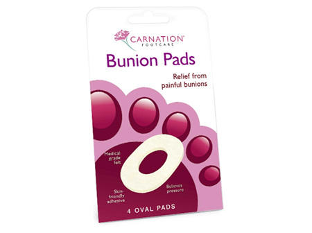 CARNATION Foot Bunion Ring Oval 4pk