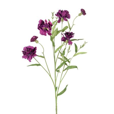 Carnation Spray Aubergine 4287