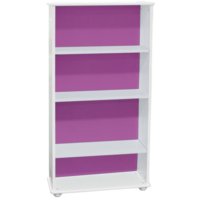 Carnival Skinny Bookcase Purple