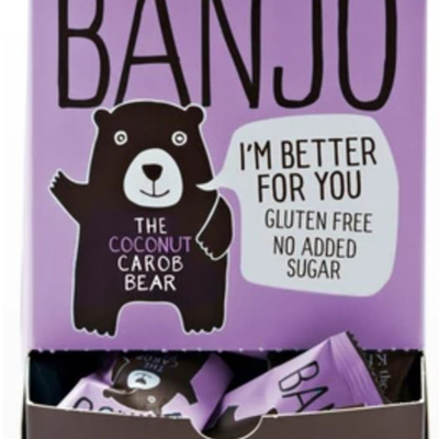 Carob Kitchen Banjo Bear - 15g