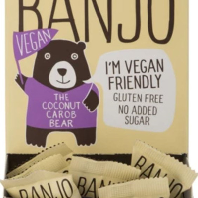 Carob Kitchen Banjo Bear Vegan - 15g