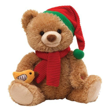 Caroling Bear - sings 12 days of Christmas!