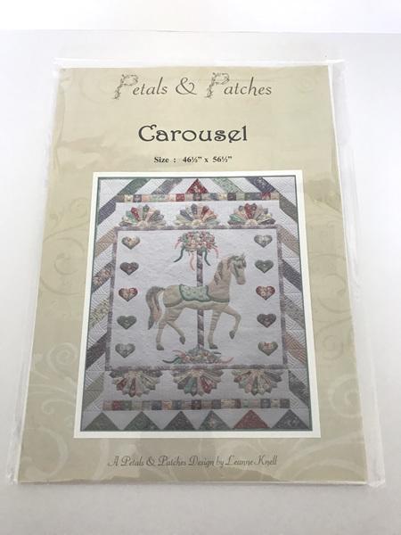 Carousel Applique Quilt Pattern
