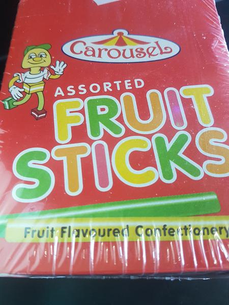 Carousel Fruit Sticks 250 sticks