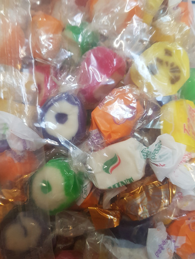 Carousel goods mixture - wrapped lollies 2 kg bag