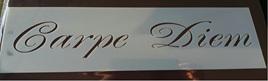 Carpe Diem Script MDS