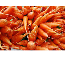Carrots Table Grade Certified Organic Approx 500g