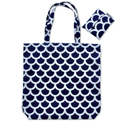 carry pouch | navy scales