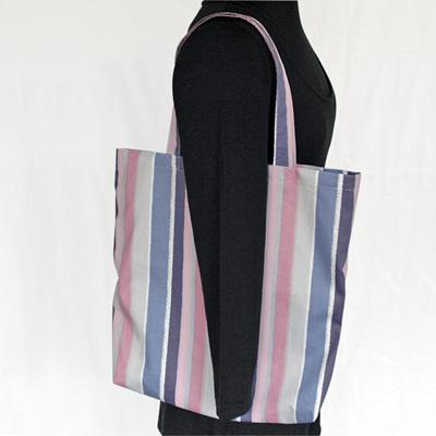carry pouch | pastel stripe
