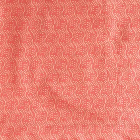 carry pouch peach colour reusable cotton shopping bag fabric close-up