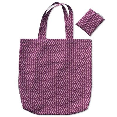 carry pouch   purple vines