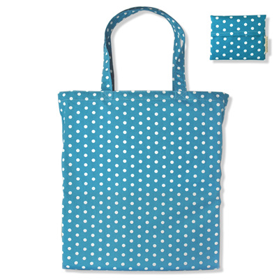 carry pouch | turquoise spot