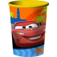 Cars 2 Plastic Single Cup