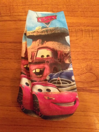 Cars & Friends Socks - Size 4-6