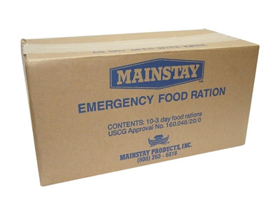 Carton - 30x Emergency 1-Day Food Rations (Exp 11/2021)