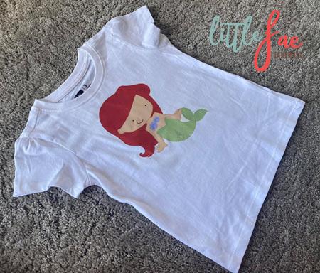 Cartoon Ariel T-shirt