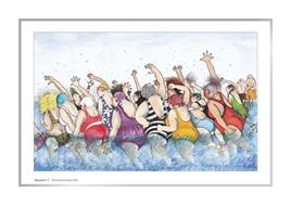 'Aquasize 1' art print